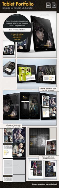 Creative Portfolio for Tablets Tempalte #eportfolio Download: http://graphicriver.net/item/creative-portfolio-for-tablets/10406185?ref=ksioks