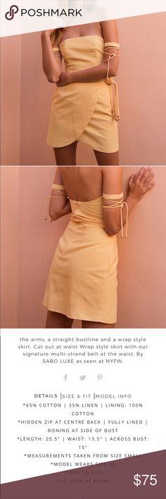 Sabo skirt dress NWT NWT doesn't fit my body type Sabo Skirt Dresses Mini