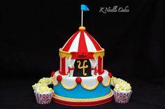 circus theme cakes | Circus theme cake | Birthdays