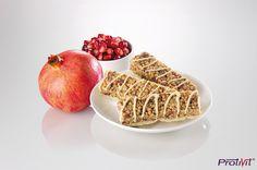 Barrette mirtillo rosso americano cranberry e melograno     #ProtiVit #eatclean #dietaproteica #helthyfood #dieta #prodottiproteici  #healthy #salute #benessere #dimagrimento