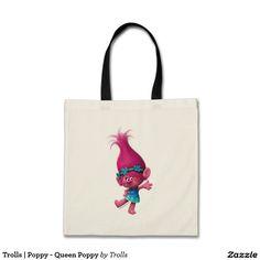 Trolls   Poppy - Queen Poppy. Regalos, Gifts. Producto disponible en tienda Zazzle. Product available in Zazzle store. Feliz. Happy. Link to product: http://www.zazzle.com/trolls_poppy_queen_poppy_tote_bag-149743210218809746?CMPN=shareicon&lang=en&social=true&rf=238167879144476949 #bolso #bag #trolls