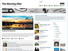 Best wordpress 3 themes the morning after