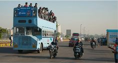 Ride the local transport! Mumbai is famous for its double-decker buses and notoriously crowded local trains, but it's the best way to get around and explore the city. It's cheap too!