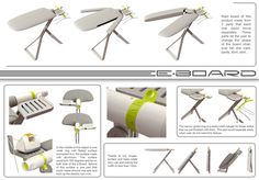 Unique Ironing Board Concept Simplifies Everyday Chores - My Modern Metropolis   (for those who still iron!)