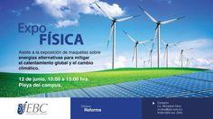 Expo Física de Bachillerato en EBC #CampusReforma