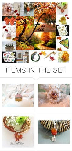"""""""Fall"""" by glassdreamshawaii ❤ liked on Polyvore featuring art and vintage"""