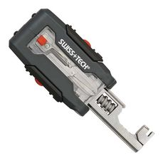 Swiss +Tech Transformer Micro-Wrench 7-in-1 Pocket Tool Kit w/LED. I'm not sure about all the plastic around it, but I find the mini shifting spanner interesting