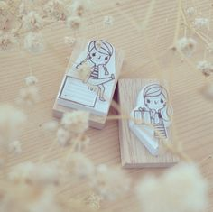 girl stamps♡