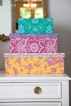 Pretty Box tutorial, for spring cleaning! From Happy Home, by @Jenn L Paganelli