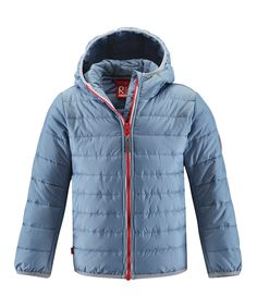 Blue Cosma Water-Resistant Mid-Layer Jacket - Toddler & Kid by Reima