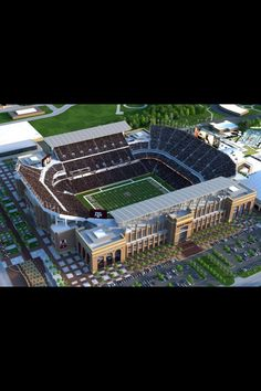 Gig em Ags! Whoop! Kyle field renovations Will seat 103,000.  I LOVE the SEC!!