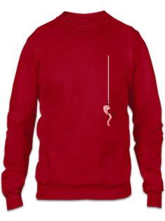 fishing 21 blue Crewneck Sweatshirt