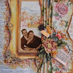 Step by Step Mixed Media Layout Video Tutorial by Marilyn Rivera