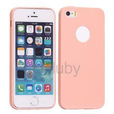 Flexible Silikonhülle für iPhone 5S 5 - Rosa