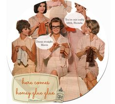 Here Comes Honey Glue Glue-Post and Podcast #CraftyHumor #RealityTV