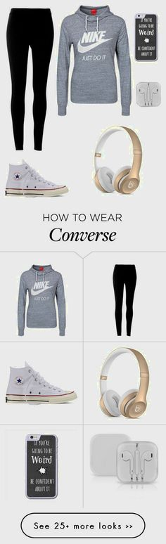 60 Ideas For Sport Style Fitness Nike Shoes Outlet Nike Outfits, Outfits With Converse, Sporty Outfits, Fitness Outfits, Fall Outfits, Sneaker Outfits, Workout Outfits, College Outfits, School Outfits
