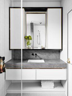 East Melbourne residence bathroom, interior by David Flack of Flack Studio