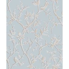 laura ashley josette duck egg blue french inspired damask wallpaper love home decor. Black Bedroom Furniture Sets. Home Design Ideas
