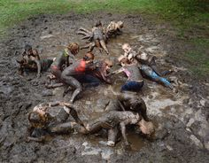 Hope to have a mud fight with friends =p