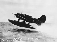 SB2C Helldiver on Floats