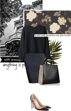"""darks - touch of beige"" by letterelle ❤ liked on Polyvore"