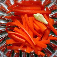 Pickled Carrot Sticks by Smitten Kitchen