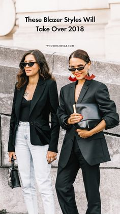 The best blazer styles of 2018