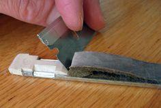 How To Make A Knitting Machine Needle Retainer Sponge Bar - Part 1 | knittsings