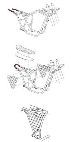 Portfolio of Nuno Capêlo (Capêlos Garage) @portfoliobox Moto Bike, Cafe Racer Motorcycle, Motorcycle Design, Bike Design, Cafe Bike, Cafe Racer Bikes, Cafe Racer Build, Tw Yamaha, Honda Garage