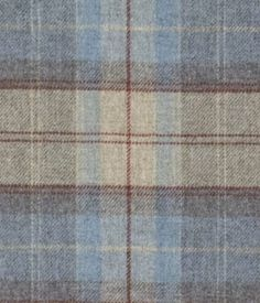 Moons Vintage Check Duckegg Fabric Swatch - Marks & Spencer