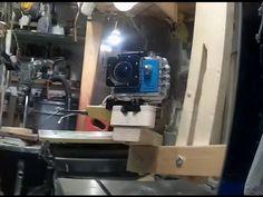 Puusta valmistettu gopro tai sj5000 kameran kiinnike.