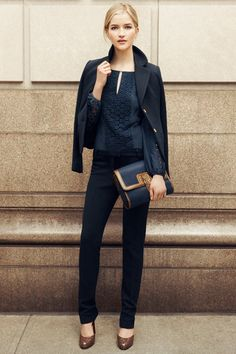 Who says business has to be boring. Style Tip: The Navy Suit | The Tory Blog