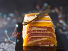 entenstopfleber-terrine-mit-ingwer-mango-chutney-rezepte-d/ - The world's most private search engine Best No Bake Cookies, Peach Syrup, Snacks Sains, Seafood Appetizers, Salty Cake, Quick Recipes, Skewers, Fritters, Original Recipe