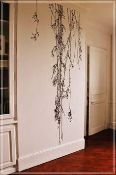 Murmures © & variations – Sticker Premium XXL – Sonate d'hiver « Poetic wall Deco Design, Wall Design, House Design, Design Design, Diy Home Decor, Room Decor, Art Decor, Wall Drawing, House Drawing