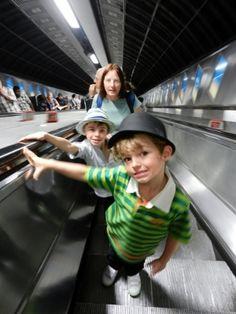 Visiting london with children london underground