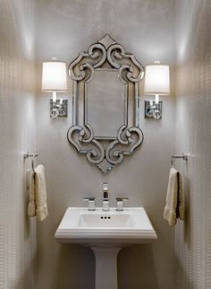 Small Decorative Tiles 6 Astounding Venetian Mirror Ideas To Inspire You  Bathroom Basin
