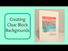 ▶ Creating Clear Block Backgrounds for Wetlands - YouTube