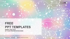 Abstract light background with colorfull PowerPoint Templates (1)