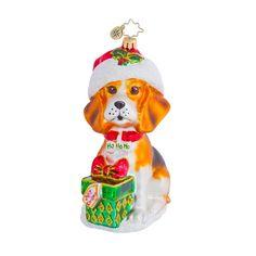 2013 Radko Beagle Buddy Animal Ornament