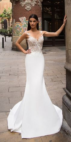 Milla Nova Bridal 2017 Wedding Dresses dina / http://www.deerpearlflowers.com/milla-nova-2017-wedding-dresses/3/