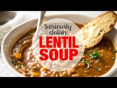 Don't settle for a bland Lentil Soup. Just a few little tips make all the difference, and you'll have everyone begging for seconds .... and thirds!