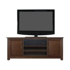 Found it at Wayfair - Chatham TV Stand in Mahogany http://www.wayfair.com/daily-sales/p/Find-Your-Style%3A-TV-Stands-%26-Media-Storage-Chatham-TV-Stand-in-Mahogany~CST23877~E22075.html?refid=SBP.rBAjEVXIE85UvC7JXm2fAnCG3MQDrk53mEPSt_Wg-Uk We're sorry, we have no weights and dimensions for this product.