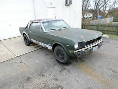Ford : Mustang 4 SPEED 1965 MUSTANG CONVERTIBLE FACTORY HIGH PERFORMANCE 4 SPEED HONEY GOLD BARN FIND  - http://www.usabarnfinds.com/archives/1228