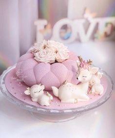 Baby Girl Birthday Cake, Baby Shower Gender Reveal, Girl Cakes, Sugar Art, Reveal Parties, Sweet Life, Cake Art, Cake Decorating, Party
