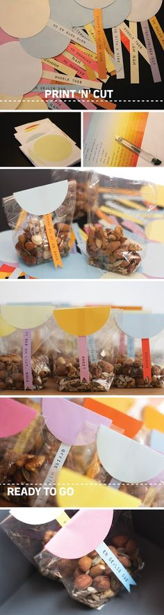 nice, simple packaging idea - DIY for holiday gifts