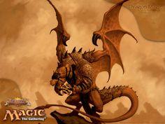 Dragon Mage - MtG Art