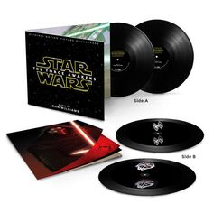 "Hologram is one of the signature communication style in the famous movie franchise ""Star Wars."" The upcoming The Force Awakens  LP vinyl soundtrack set will come with the 3D holograms. The images of TIE Fighter and Millennium Falcon are etched on the record surface, with the proper angle you will see a spinning artwork. For the best …"