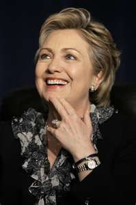 Hillary Clinton, named most powerful woman in the world by Forbes Magazine US Secretary of State in Obama administration; former Senator from New York; former US First Lady; serious candidate for president in her own right. Bill And Hillary Clinton, Hillary Rodham Clinton, Hillary Clinton Pictures, Interview, Lol, Awkward Moments, Women In History, Black History, Carlos Santana