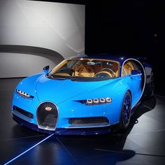 2017 Bugatti Chiron Revealed at Geneva 2016: A New Fastest Production Supercar