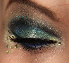 Get the Look - Peacock Eyes